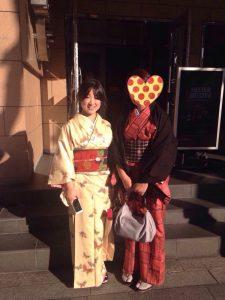 momo's Aroma room 京都のリンパマッサージ & アロマ-【ブログ】着物でお出かけの巻。