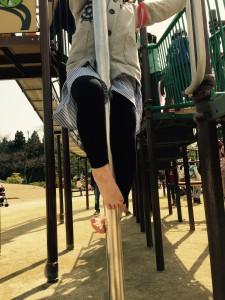 momo's Aroma room 京都のリンパマッサージ & アロマ-【ブログ】梅小路公園でハッスル