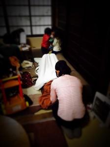 momo's Aroma room 京都のリンパマッサージ & 子連れで行けるアロマサロン-【ブログ】月イチ親子カフェでアロマ出店してきました。