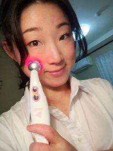 momo's Aroma room 京都のリンパマッサージ & アロマ-【ブログ】新しい美顔器で肌ツヤ