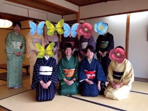 momo's Aroma room 京都のリンパマッサージ & アロマ-【ブログ】着物でお花見