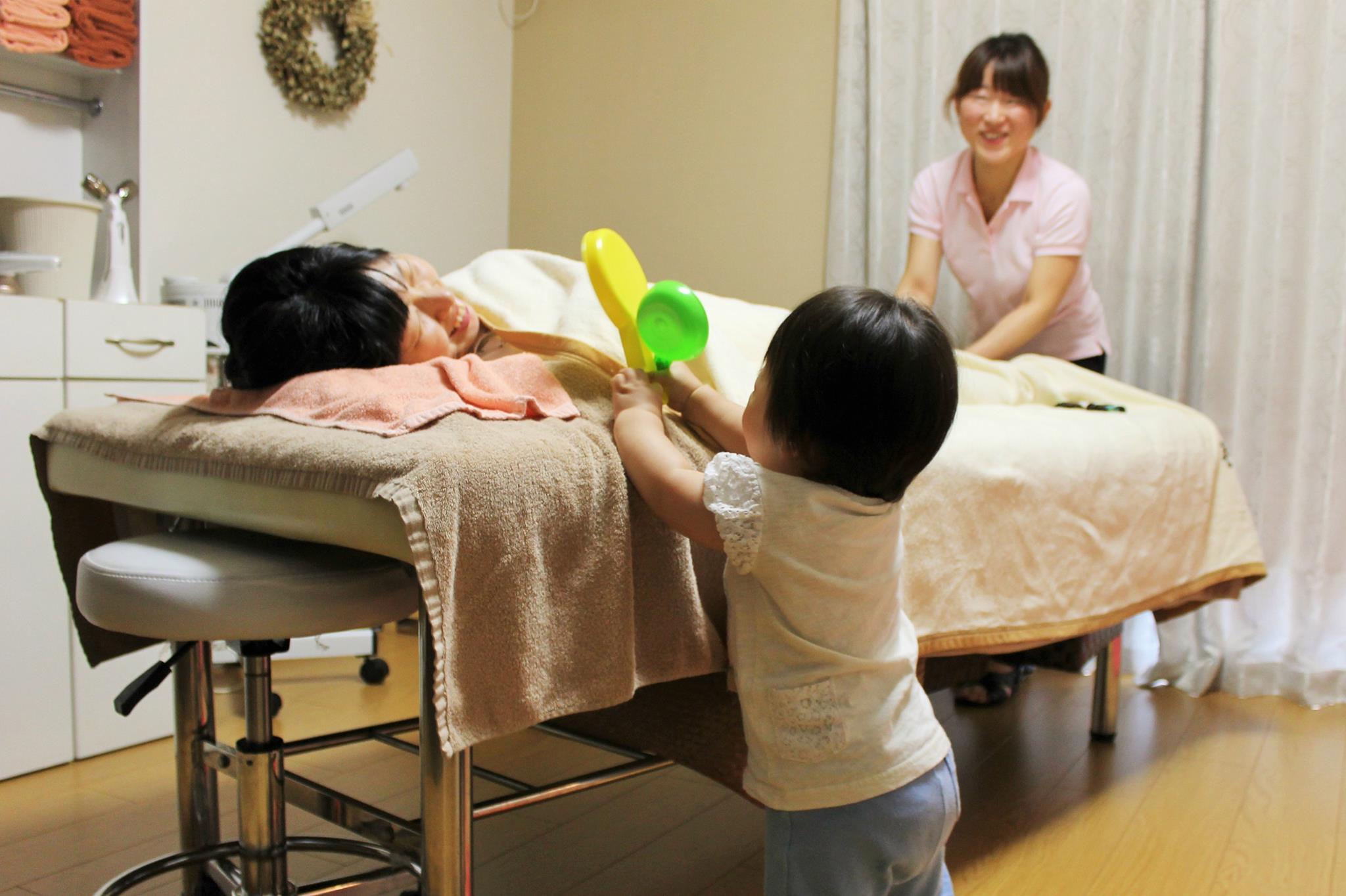 momo's Aroma room 京都のリンパマッサージ & 子連れで行けるアロマサロン-施術を受ける人口を増やすプロジェクト♥3