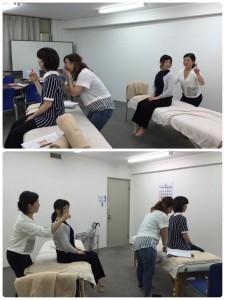 momo's Aroma room 京都のリンパマッサージ & アロマ-【ブログ】研修デー。