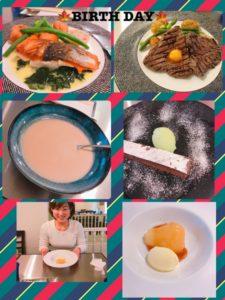 momo's Aroma room 京都のリンパマッサージ & 子連れで行けるアロマサロン-誕生日でした。何回目でしょうか?