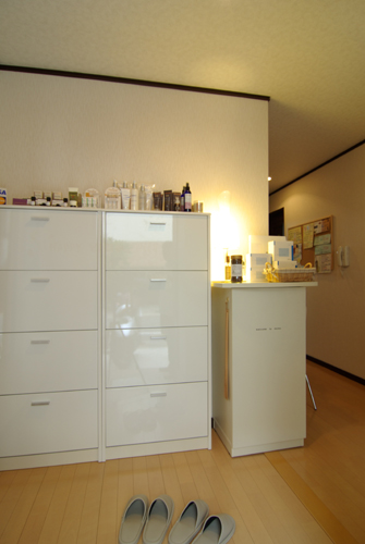 momo's Aroma room 京都のリンパマッサージ & アロマ-店内の様子