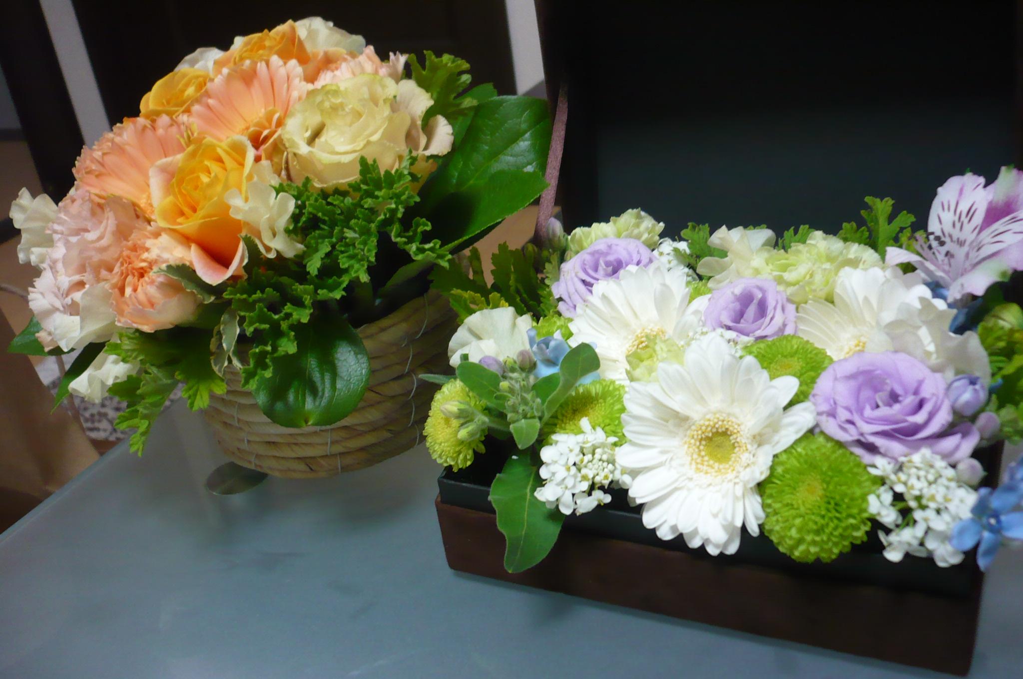 momo's Aroma room 京都のリンパマッサージ & 子連れで行けるアロマサロン-フラワーアレンジメントレッスン1月27日開催